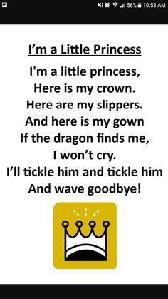 Cute princess rhyme