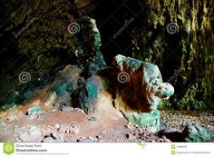 The colored rock in a cave stock photo. Image of decline - 10985036 Royalty, Stock Photos, Rock, Painting, Image, Color, Art, Royals, Art Background