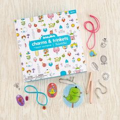 Shrinky Dinks Charms and Trinkets in Arts & Crafts designed by Suzy Ultman   The Land of Nod