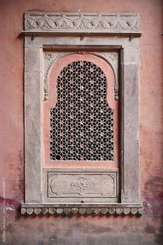 Pink - window - India - Anthon Jackson - photography