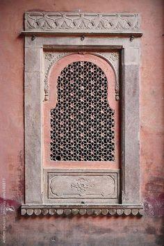 Pink - window - India - Anthon Jackson - photography