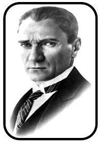 Her sınıfa, her eve bir Atatürkümüzü anma köşesi hazırlayalım. Bunu yapmak için: Atatürk portre res...
