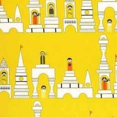 Tamara Kate - Les Monsieurs - Monsieur Blocks in Yellow