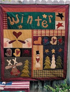 Welcome to Meme's Quilts! Adorable stitchery and quilt patterns for crafters who are looking for a unique project or gift. Christmas Makes, Christmas Snowman, Christmas Crafts, Christmas Decorations, Xmas, Snowman Quilt, Winter Quilts, Christmas Sewing, Christmas Quilting