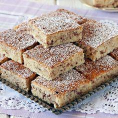 Äppelrutor med kanel No Bake Desserts, Dessert Recipes, Bun Recipe, Swedish Recipes, Afternoon Snacks, Love Cake, No Bake Cookies, Baked Goods, Cookie Recipes
