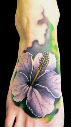 Tattoo Artist - Demon Tattoo - Flowers tattoo