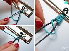 Bracelet Tressé - Step 02 - The PopCase - Paracord Bracelet Braided Bracelets, Macrame Bracelets, Handmade Bracelets, Friendship Bracelets, Diy Jewelry, Handmade Jewelry, Jewelry Making, Gothic Jewelry, Jewelry Necklaces