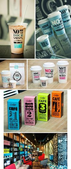 Coffee branding #identity #branding #design #layout