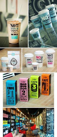 Coffee branding #identity #branding #design #layout