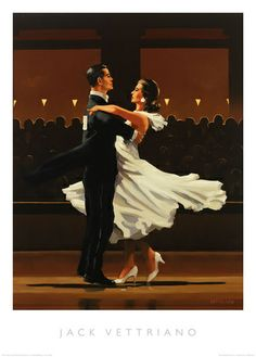 Jack Vettriano Take This Waltz print for sale. Shop for Jack Vettriano Take This Waltz painting and frame at discount price, ships in 24 hours. Cheap price prints end soon. Art Prints, Jack Vetriano, Painter, Shall We Dance, Dance Art, Artist, Lets Dance, Jack Vettriano, Pictures