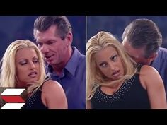 10 Times Vince McMahon Lost Touch With Reality Wwe Trish, Trish Stratus, Vince Mcmahon, Hulk Hogan, My Crush, Watch V, Wwe Entertainment, Crushes, Take That