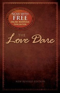 Unconditional love is eagerly promised at weddings, but rarely practiced in real life. The Love Dare, as featured in the popular movie Fireproof, is a 40-day challenge for husbands and wives to understand and practice unconditional love.