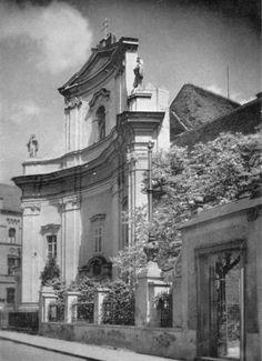 Kirche der Barmherzigen Brüder 1957 Kirchen, Image, Linz, Historical Pictures