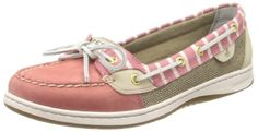 cool Sperry Top-Sider Women's Angelfish Bretton Slip-On Loafer,Red,9.5 M US