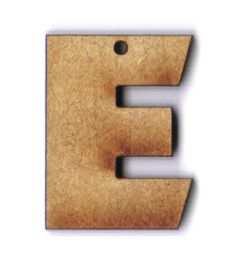 Letter E 1 inch wooden bead Letter E, Letter Beads, Amazon Art, Sewing Stores, Wooden Beads, Sewing Crafts