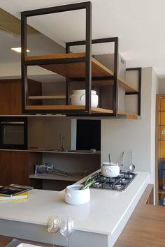 Villa Margarita, Industrial Kitchen Design, Cool Apartments, Studio Apartment, Diy Furniture, Shelves, House Design, Modern, Ideas