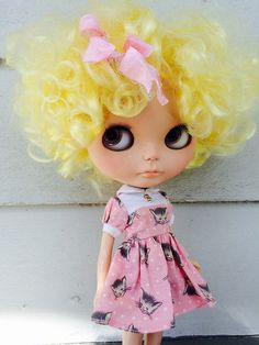Dottie: Melly Kay custom Saffy with cute lemon color curly TBL scalp-FA looking to travel!! MESSAGE ME FOR DETAILS! | Flickr - Photo Sharing!