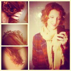 "Fake ""short hair"" updo for long hair"