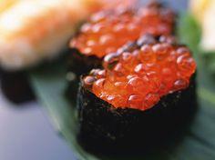 Types of Sushi Types Of Sushi, Salmon Roe, Sashimi, Nom Nom, Rolls, Fish, Teen Witch, Eat, Battleship