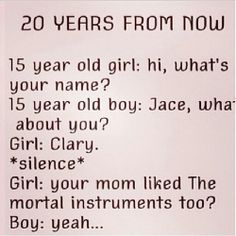 The Mortal Instruments my three kids, Isabelle, Jonathan and Alex/ Izzy, Jace, Alec!