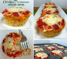 Chicken Parmesan Meatloaf Muffins Tutorial