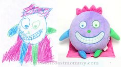 Review of bringing your drawings to life as custom stuffed animals at budsies.com!