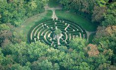 Château de Chenonceau - région Centre - jardins - le labyrinthe