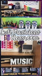 Teaching music with fun, tried & tested lessons, DIY classroom projects & ideas your students will love with Tracy King, the Bulletin Board Lady. Star Wars Classroom, Music Classroom, Classroom Themes, Classroom Organization, Future Classroom, Music Education Activities, Physical Education, Star Wars Music, Music Bulletin Boards