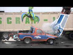 Seahawk fans destroy Bronco - YouTube