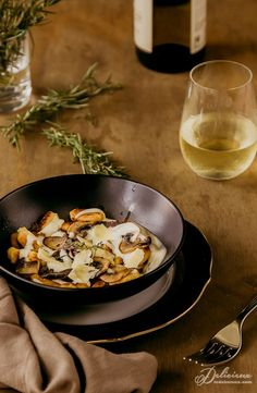 Gnocchi Parisienne - A delicious French style gnocchi made from pâte à choux (choux pastry). Makes a wonderful change to the traditional potato gnocchi.