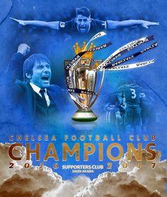 Premier league 2017 تشيلسي بطل الدوري الانجليزي 2017 Football Team, Chelsea, Champion, Movie Posters, Movies, Football Squads, Films, Film Poster, Cinema