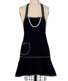 Look what I found on #zulily! Kay Dee Designs Little Black Ensemble Apron - Women by Kay Dee Designs #zulilyfinds