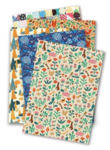 Image of 5 x SHEETS OF WRAPPING PAPER