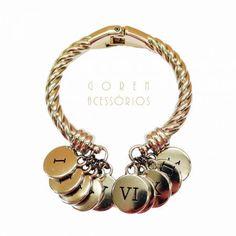Bracelete e pulseira 10 mandamentos