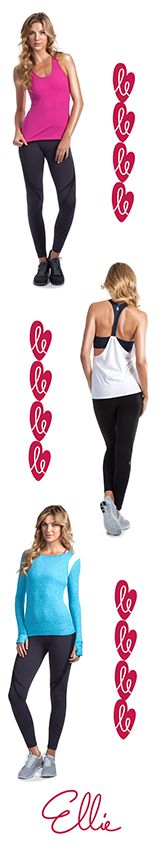 Meet Ellie. Your workout never looked this good #MeetEllie #Streetstyle #chictothenextlevel