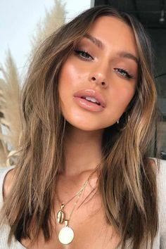 Brown Hair Shades, Light Brown Hair, Light Hair, Ombre For Brown Hair, Light Chocolate Brown Hair, Natural Brown Hair, Hair Color For Tan Skin, Brown Hair Colors, Brown Hair For Warm Skin Tones