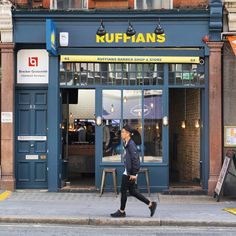 Image result for ruffians barber shop & store window display