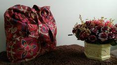 Bolsa tecido decoração, tons cayenne, verão 2014/15