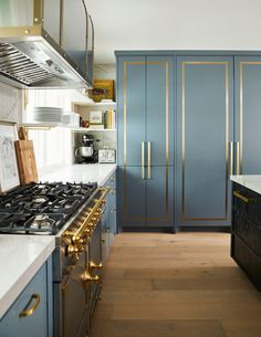 Home Interior Design House of Kennedy Blue Kitchens, House Interior, Interior Deco, Art Deco Kitchen, Home Remodeling, Kitchen, Interior, Interior Design Dining, Kitchen Design