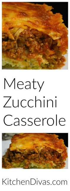 This zucchini crust is fabulous! Actually, this casserole fabulous!Another recipe from my friend Marcel. So easy to prepare. You can put anything in the sauce that you desire. Delicious! https://kitchendivas.com/meaty-zucchini-casserole/