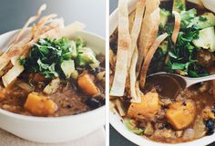 black bean + butternut soup: sprouted kitchen
