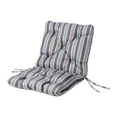 SÄRÖ Sitz-/Rückenkissen IKEA Mit Polyesterwatte gefüllt; bietet viel Komfort. Bänder verhindern das Verrutschen der Polster. Beidseitig verwendbar.