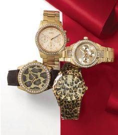 Guess #watch #chronograph #crystal #animalprint #macys BUY NOW!