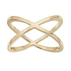 LC Lauren Conrad Crisscross Ring