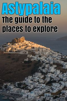 Astypalaia where? That was the comment I received from most of my friends when I talked about my next destination in Greece. Indeed, a remote and beautiful isla Travel Advice, Travel Tips, Beach Place, Beach Tops, Beaches, Islands, Travelling, Greece, Remote