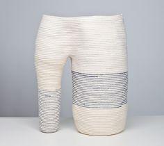 basket coil form Doug Johnston, from Sight Unseen's 2013 American Design Hot List Textiles, Hipster Apartment, Textile Sculpture, Soft Sculpture, Ceramic Techniques, Ceramic Houses, Weaving Techniques, Textile Artists, Textile Design