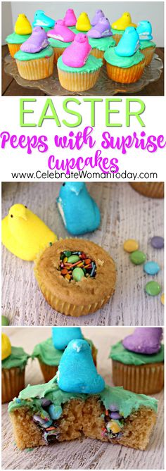 These Easter Peeps are colorful and easy to make. Quick recipe with a ton of fun for your family time with kids and friends.  #RecipeIdeas every day for every holiday
