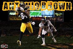 Antonio Brown with a MONSTER game:  16 Rec, 189 Yds, 2 TD. Steelers erase 17-Pt deficit to win.  12/20/2015