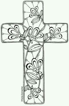 25 Religious Easter Coloring Pages   Flowers, Easter and Easter ...