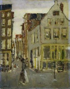 De Lauriergracht bij de Tweede Laurierdwarsstraat, George Hendrik Breitner, 1880 - 1923 - breitner-Verzameld werk van marth - Alle Rijksstudio's - Rijksstudio - Rijksmuseum
